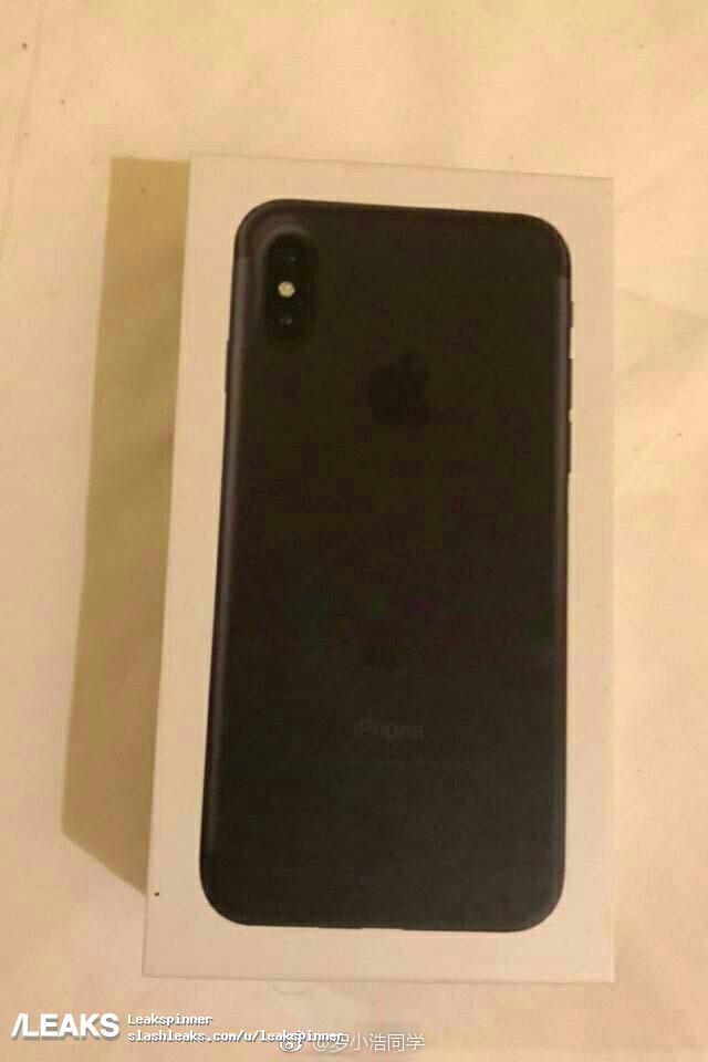 iphone 8 retail packaging boite emballage Une fuite révèle la boîte de liPhone 8 ?
