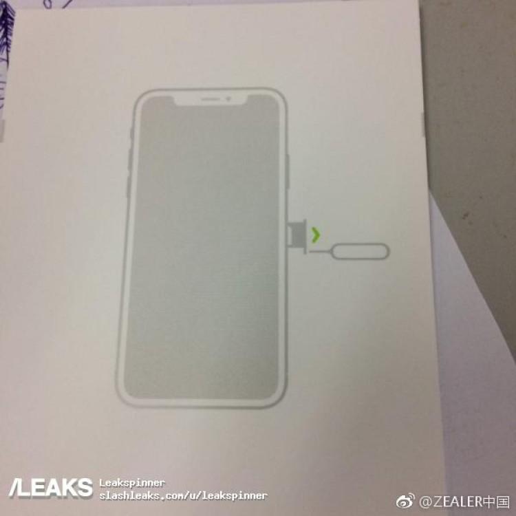 notice iphone 8 iPhone 8 : une notice fuite et confirme sa forme et son écran