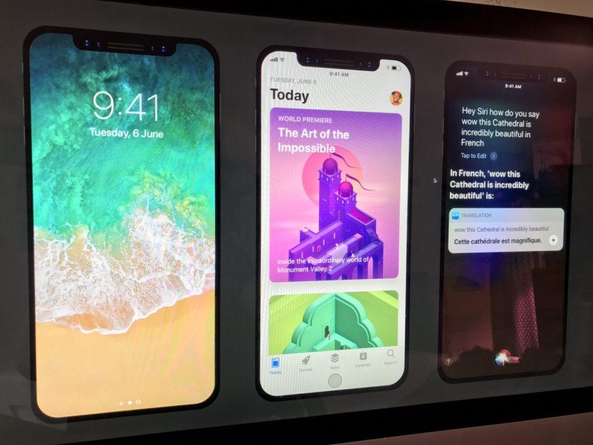 DG43LnfVoAAovKK iPhone 8 : aperçu des applis Netflix, Spotify, App Store et Vidéos