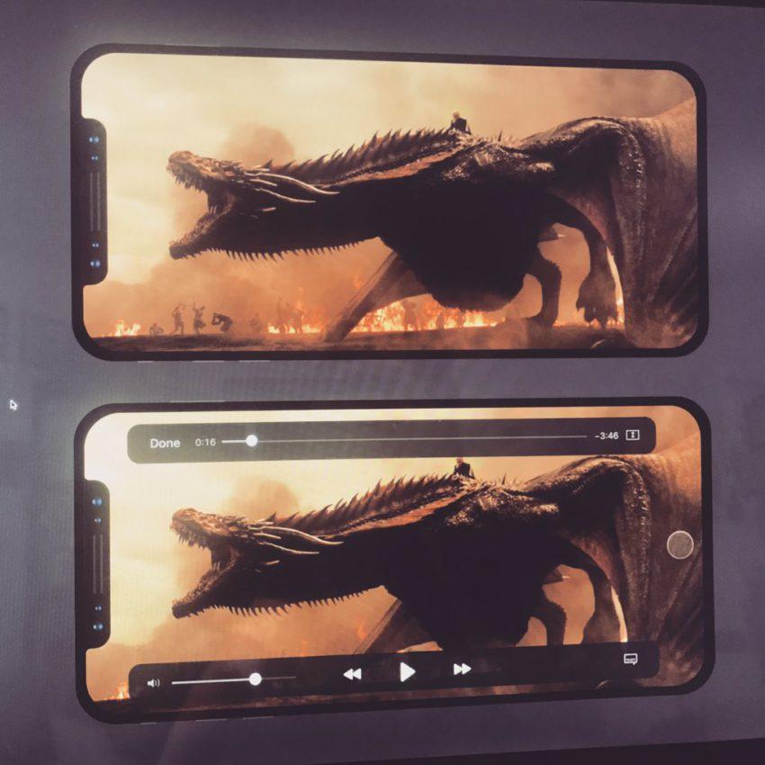 DG5NS3AWAAIRPZ1 iPhone 8 : aperçu des applis Netflix, Spotify, App Store et Vidéos