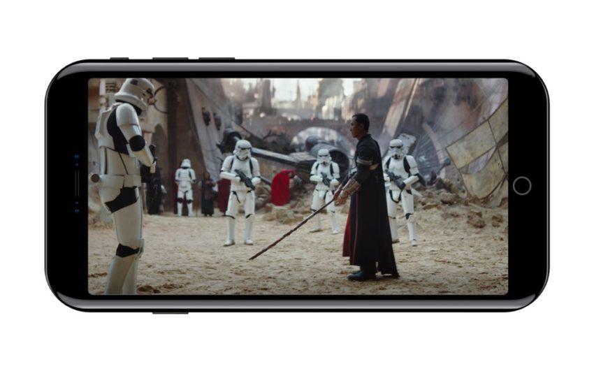 DG Te 9UIAAthk3 iPhone 8 : aperçu des applis Netflix, Spotify, App Store et Vidéos