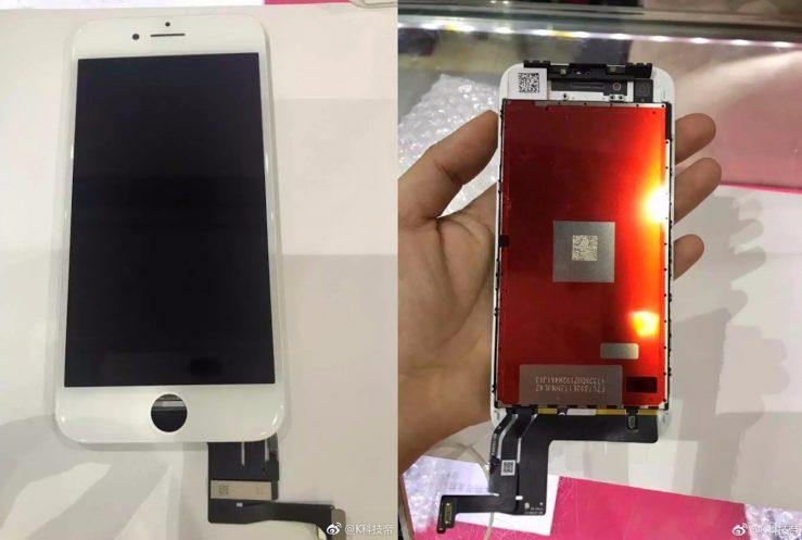 Fuite iPhone 7s Ecran App4Phone iPhone 7s Plus / 7s : des photos de câbles et écrans dévoilées