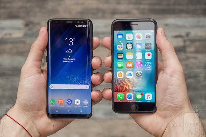 Samsung Galaxy S8 vs Apple iPhone 7 Review TI iPhone 7 : le smartphone le plus vendu au second trimestre 2017