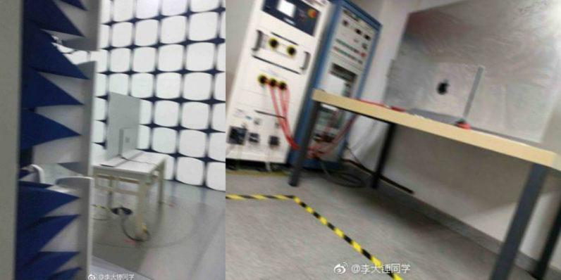 Weibo Apple 4K OLED TV 796x398 TV OLED Apple de 60 pouces en préparation ? (fuite de photos)