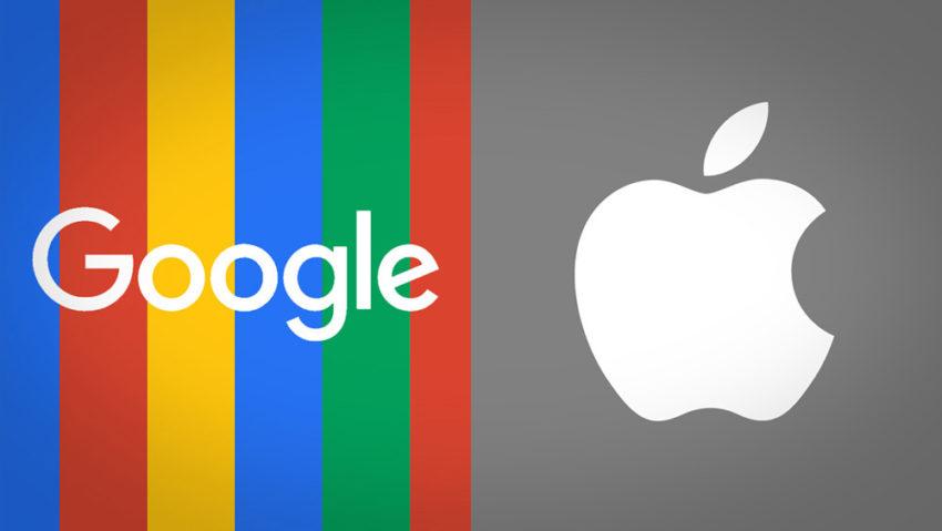 apple vs google Google paye 3 milliards de $ à Apple pour rester le moteur de recherche par défaut de iOS