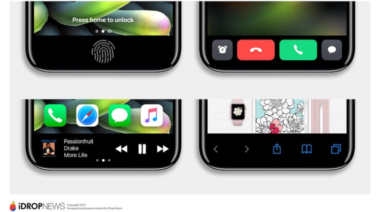 iPhone 8 Function Area iDrop News Exclusive 7 780x430 iPhone 8 : le bouton home virtuel révèle ses secrets