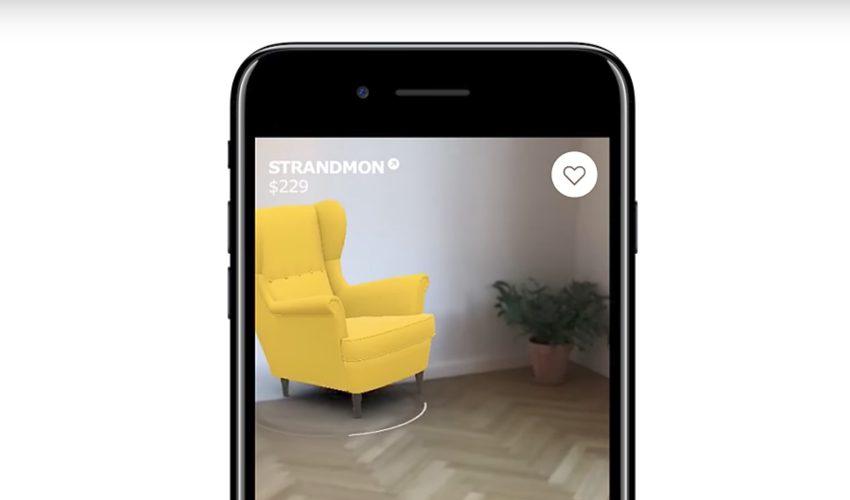 ikea appli ios11 realite augmentee IKEA : lappli pour iOS 11 intègre la réalité augmentée