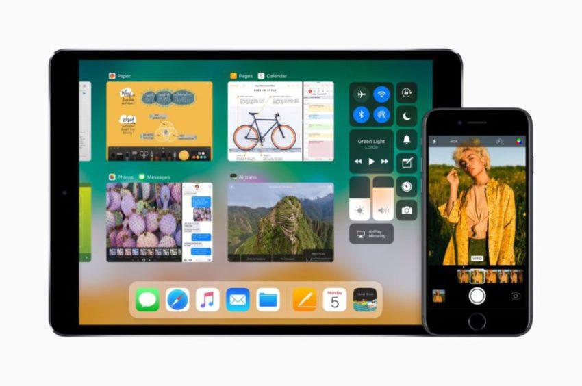 ios11 beta centre controle app switcher iOS 11 : App Switcher et centre de contrôle révélés dans la dernière bêta