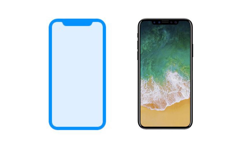 iphone 8 fuite icone iPhone 8 : le design confirmé par une icône laissée par erreur