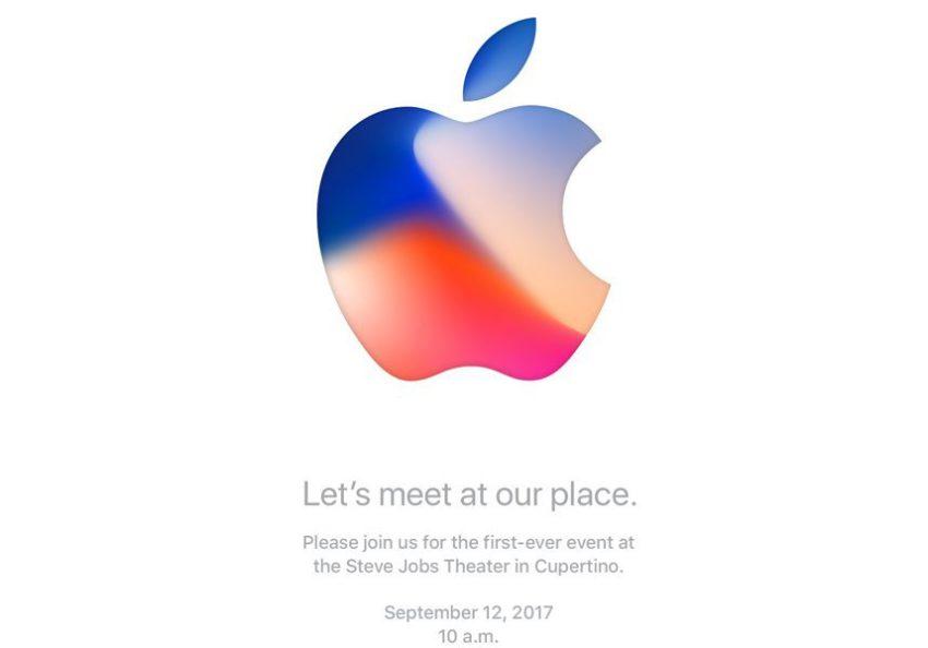 keynote 12 septembre 2017 iphone 8 850x594 iPhone 8 : la date du 12 septembre est confirmée pour la keynote