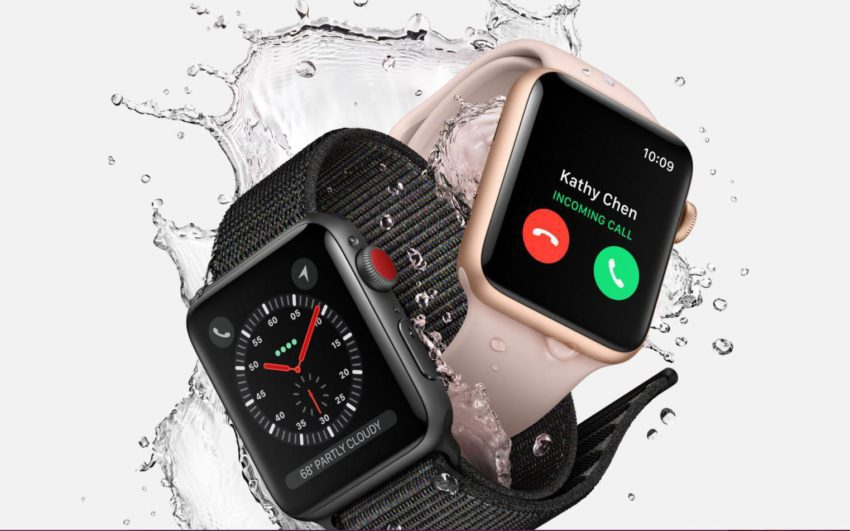 apple watch series 3 850x531 iPhone 8/8 Plus, Apple Watch Series 3, Apple TV 4K : précommandes disponibles