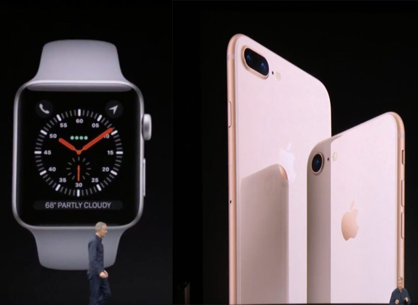 apple watch series 3 iphone 8 iPhone 8/8 Plus, Apple Watch Series 3, Apple TV 4K : précommandes disponibles