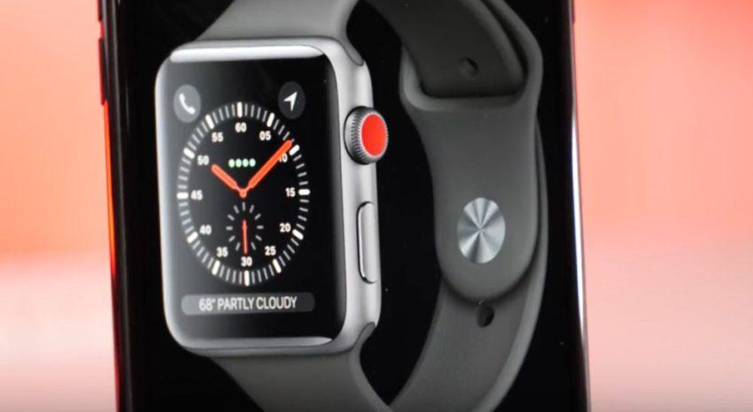 apple watch series3 Apple Watch Series 3 : fuite sur liOS 11 Golden Master