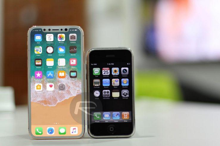 iPhone 8 vs iPhone EDGE L'écran de liPhone 8 comparé à celui de liPhone 7 Plus et les autres modèles