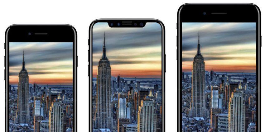iphone 8 7s 7splus 850x425 Keynote : un mois de retard pour la commercialisation de liPhone 8/X/Edition ?