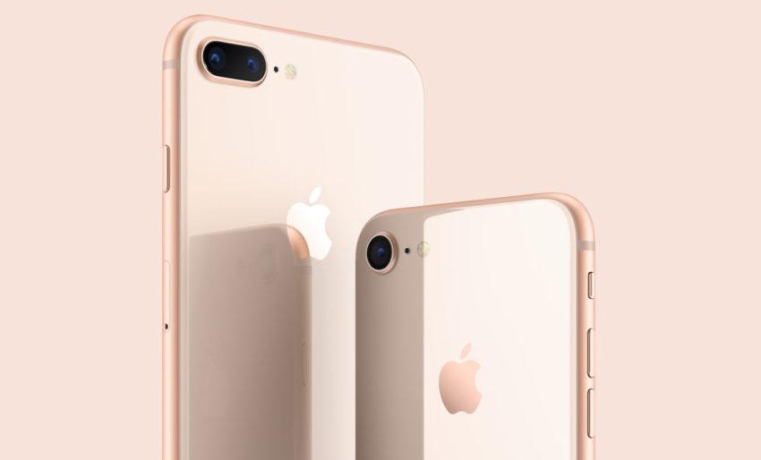iPhone 8 et iPhone 8 Plus : caractéristiques, prix et date de disponibilité