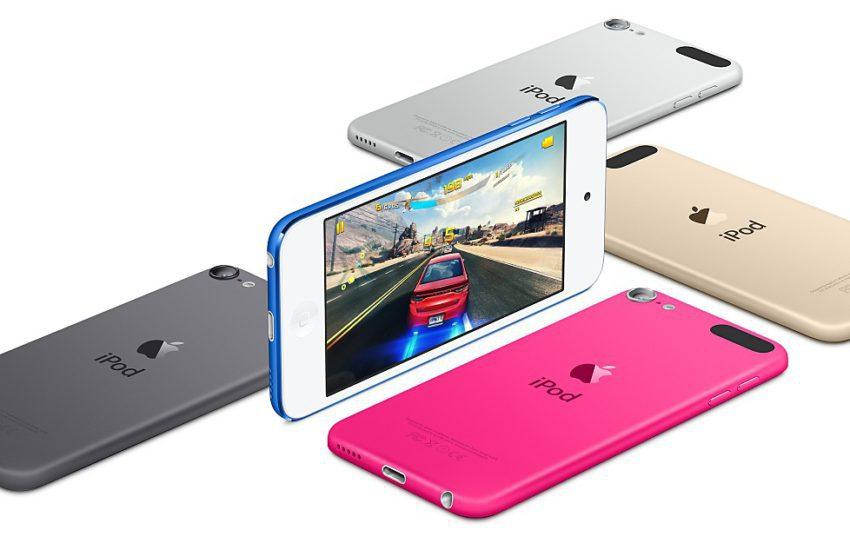 ipod touch 850x543 Keynote 2017 : un iPod touch de 7ème génération dans les coulisses ?