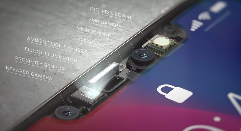 Face ID TrueDepth iPhone X : la production du capteur TrueDepth pour Face ID devient stable