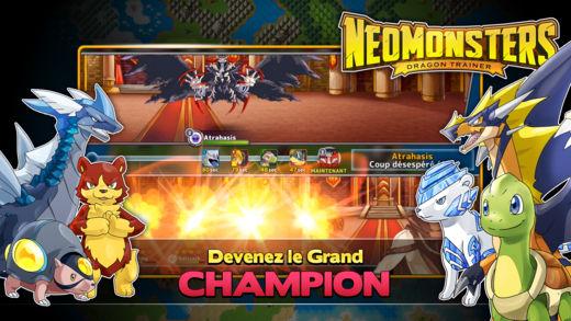 Neo Monsters Applis pour iPhone : les bons plans du vendredi 20 octobre 2017
