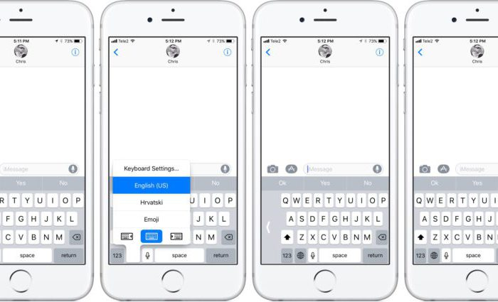 clavier ios 11 700x425 App4Phone   Bon plan iPhone 7, 6s, Astuces, Actu & App Store