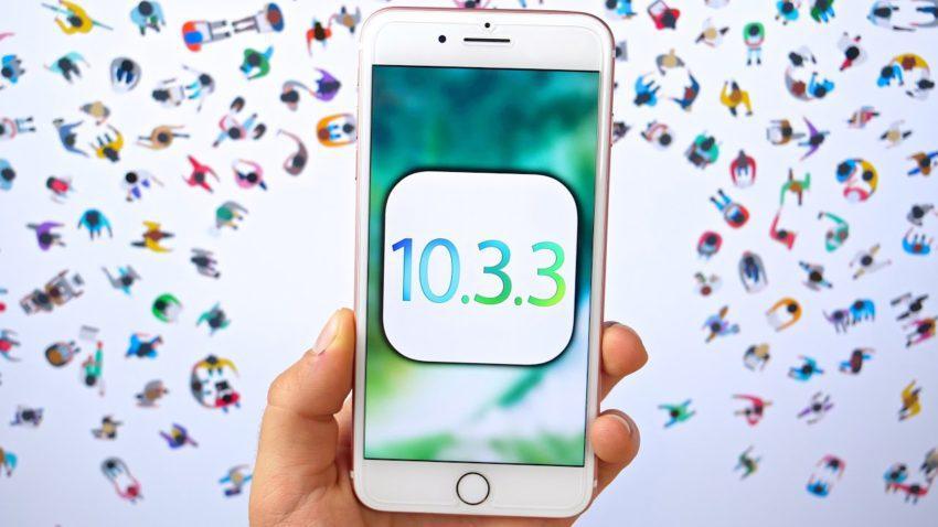 iOS 10.3.3 est de nouveau signé par Apple, exclusivement pour liPhone 6s