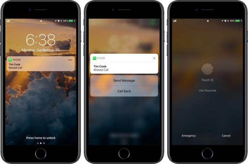 ios 11 proteger appels manques 850x561 Astuce pour protéger ses appels manqués sur iOS 11