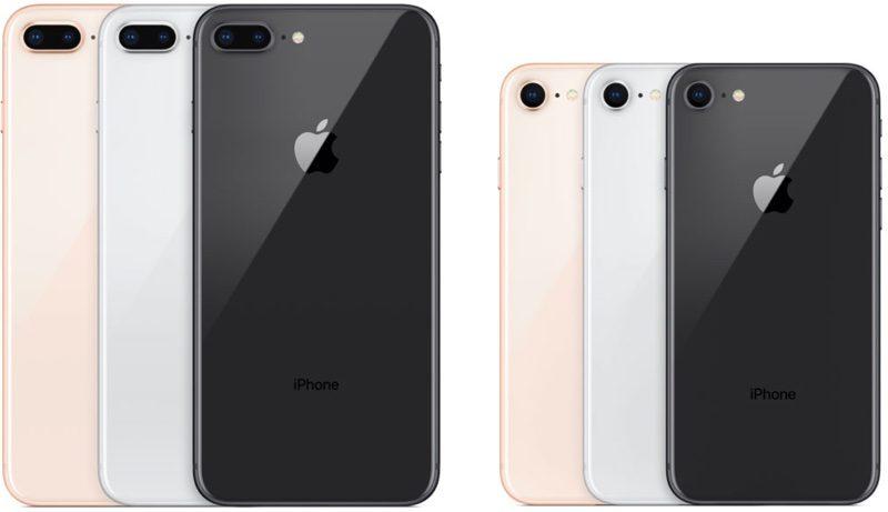 iphone 8 iphone 8 plus Selon CIRP, les ventes de liPhone 8 ne sont pas satisfaisantes