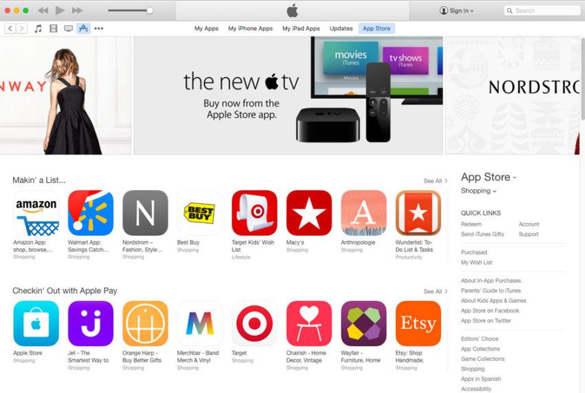 itunes 12 6 3 app store iTunes 12.6.3 permet davoir à nouveau accès à lApp Store