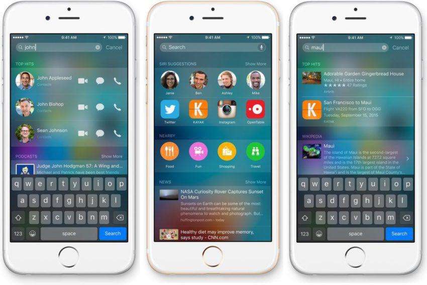 spotlight devises 850x567 Astuce pour convertir des devises et des unités avec Spotlight sur iPhone