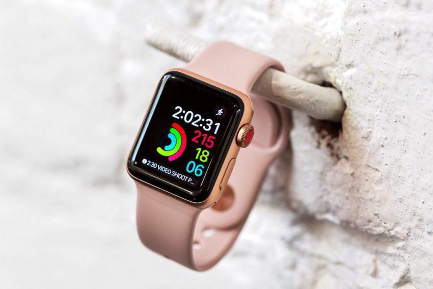 Apple Watch Series 3 GPS 4G 850x567 Apple Watch Series 3 : on peut passer des appels durgences sans forfait