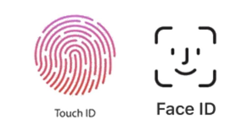 Face ID vs Touch ID Logo 850x459 Face ID vs Touch ID : qui est le plus rapide ?