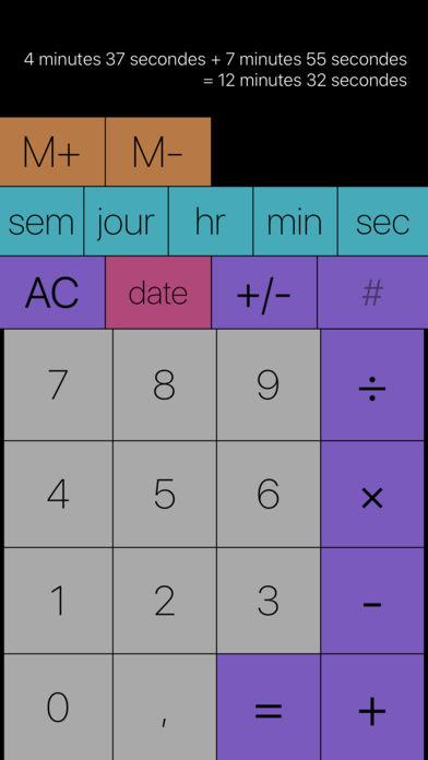 Time Calc Applis pour iPhone : les bons plans du 1er novembre octobre 2017