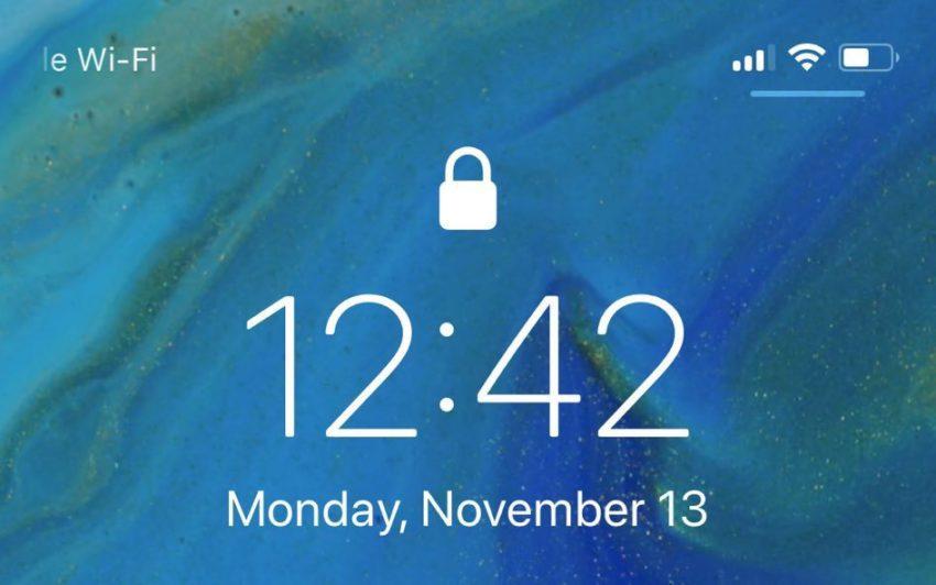 iOS 11 2 beta 3 Nouveautes Barre 850x532 iOS 11.2 bêta 3 : voici les nouveautés