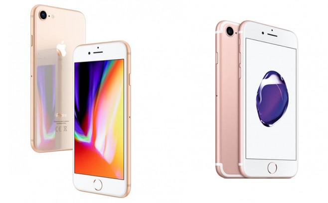 iPhone 8 vs iPhone 7 Les ventes diPhone 7 ont dépassées ceux de liPhone 8 pour le 3e trimestre