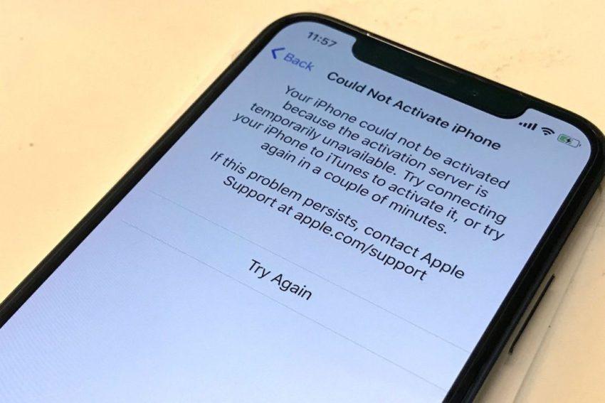 iPhone X Activation 850x567 iPhone X : problèmes dactivation et la caméra ne marche pas pour certains