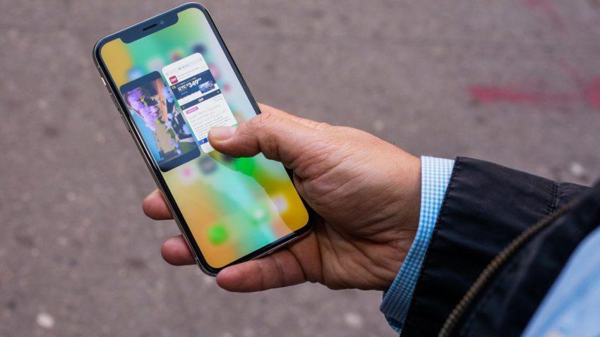 iPhone X Multitache 850x478 iPhone X : problèmes dactivation et la caméra ne marche pas pour certains