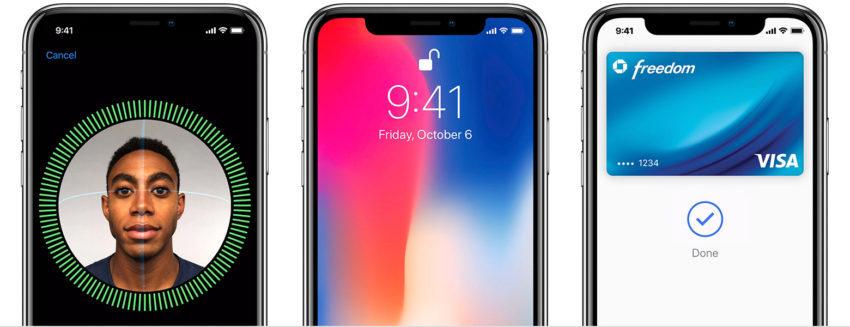 ios 11 iphone x face id 850x327 Apple propose des guides pour bien utiliser liPhone X