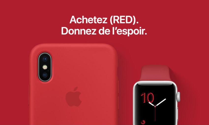Apple RED Products 850x509 Journée mondiale du SIDA : voici la liste des produits Apple qui contribuent à la lutte contre le VIH