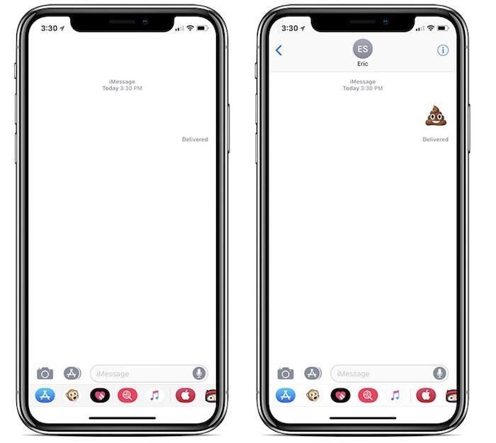 Bug iOS iMessage Bug iOS 11 : ne démarrez pas une nouvelle conversation iMessage avec un Emoji
