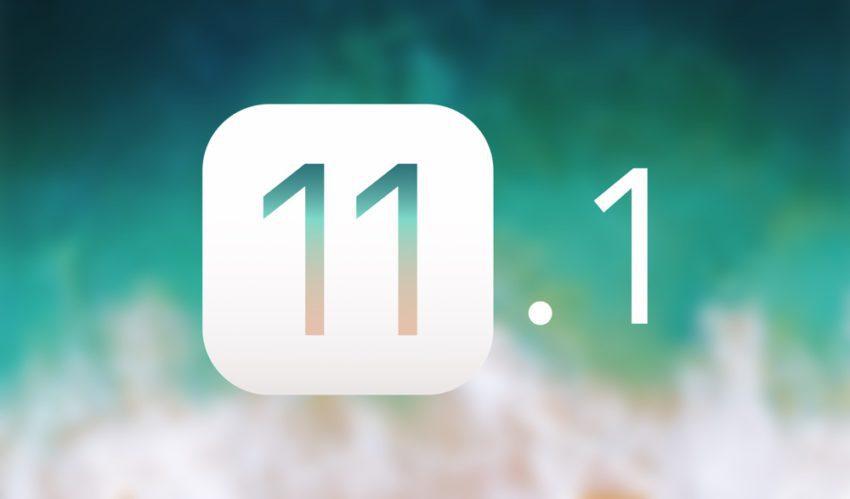 iOS 11 1 Bloquee 850x499 Apple cesse de signer iOS 11.1 pour iPhone, iPad et iPod touch