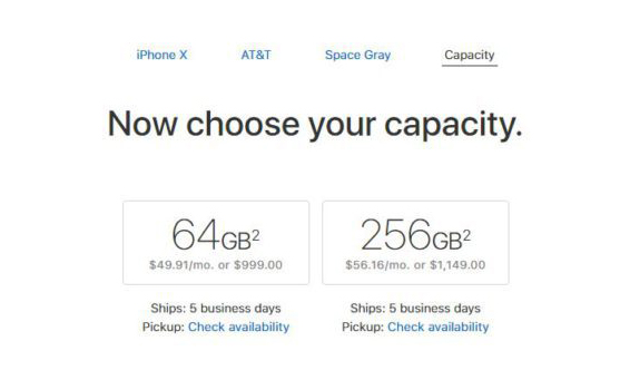 iPhone X Livraison USA Canada iPhone X : les délais dexpéditions sont améliorés pour les États Unis et le Canada