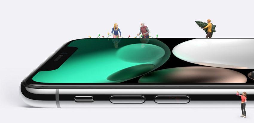 iPhone X Noel 850x413 iPhone X : Apple publie 3 nouvelles vidéos pour vanter certaines fonctionnalités