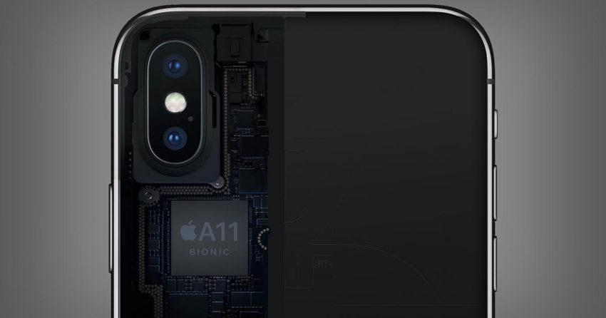 A11 Bionic iPhone X 850x446 TSMC serait le seul fournisseur du processeur A12 de 7 nm des iPhone de 2018