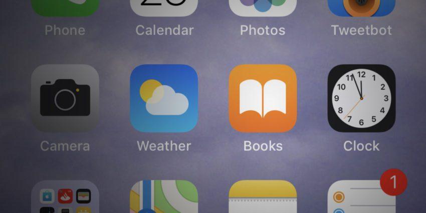 Books iOS 11 3 Beta 1 850x426 Apple prévoit un remaniement de lapplication iBooks