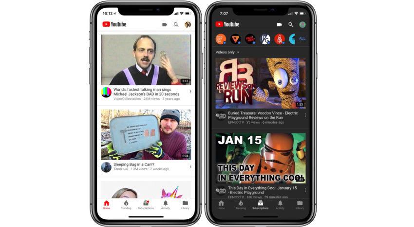 Mode Nuit YouTube 850x468 YouTube iOS : le Mode Nuit bientôt disponible pour tous les utilisateurs