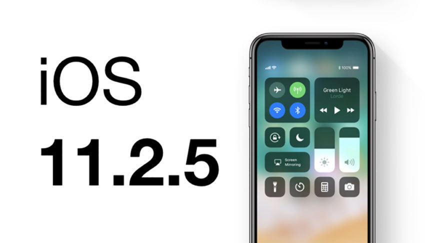 iOS 11 2 5 850x486 La version finale diOS 11.2.5 est disponible