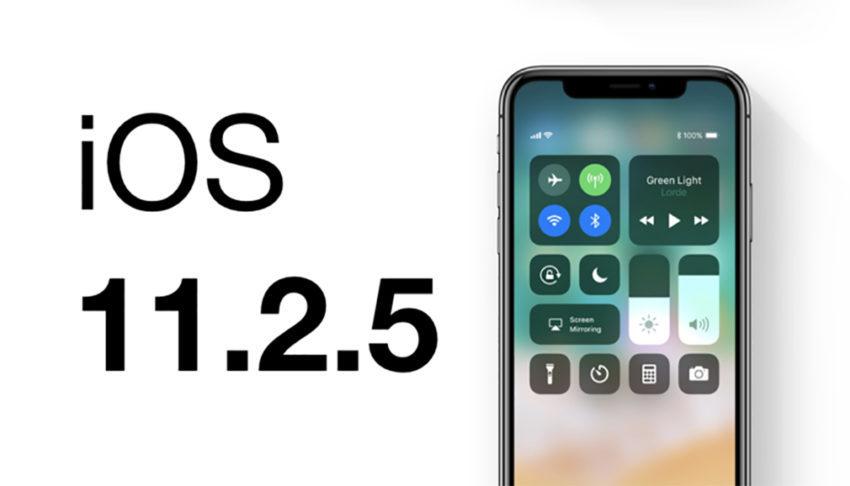 iOS 11 2 5 850x486 La version finale diOS 11.2.5 est disponible