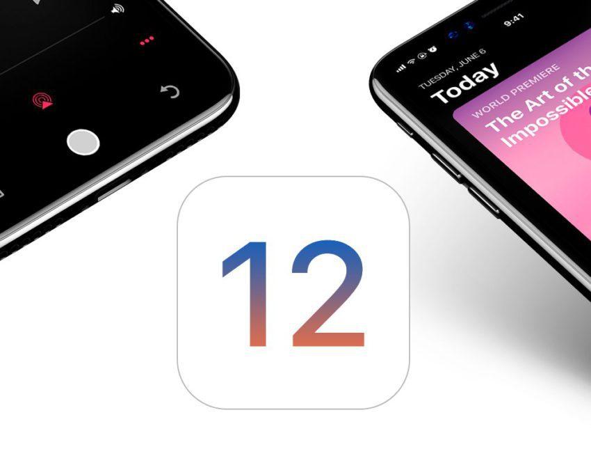 iOS 12 Changement 850x665 Les empreintes diOS 12 et de macOS 10.14 sont repérées sur la toile