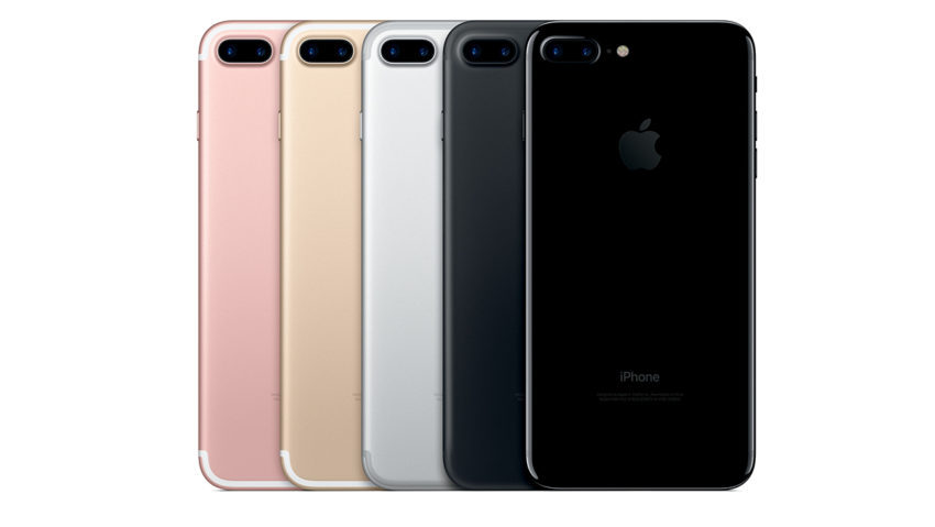 iPhone 7 Plus Couleurs 850x479 LiPhone 7 Plus sest bien vendu en Chine au cours de l'année 2017