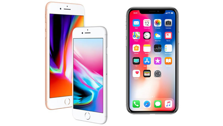iPhone 8 8 Plus iPhone X 850x480 La production des iPhone 8 et iPhone X serait réduite pour le premier trimestre de 2018